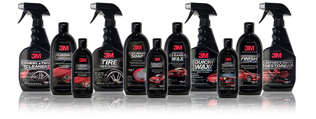 3M Automotive Car Care Products