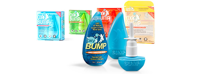 OxyBump, Oxy Bump Sprays
